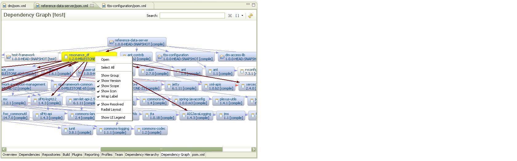 Maven Dependency Graph - IDEs Support (IntelliJ Platform ...
