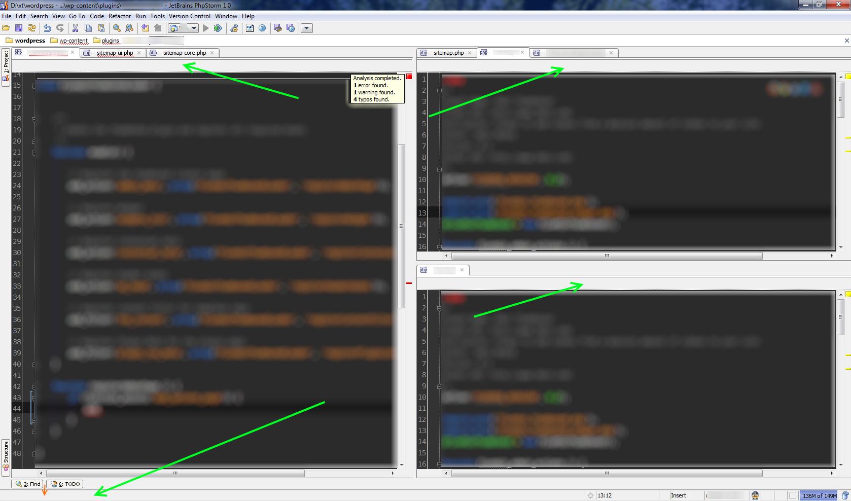 Dxtwordpress - ...wp-contentplugins5min5min.php - JetBrains PhpStorm 1.0.png