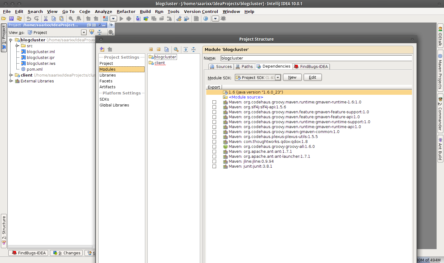 blogcluster - [-home-saarixx-IdeaProjects-blogcluster] - IntelliJ IDEA 10.0.1_003.png