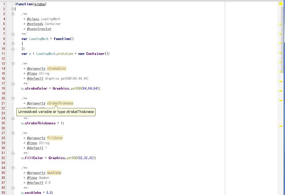 WebStorm3.0.1_property_warns_screenshot.png