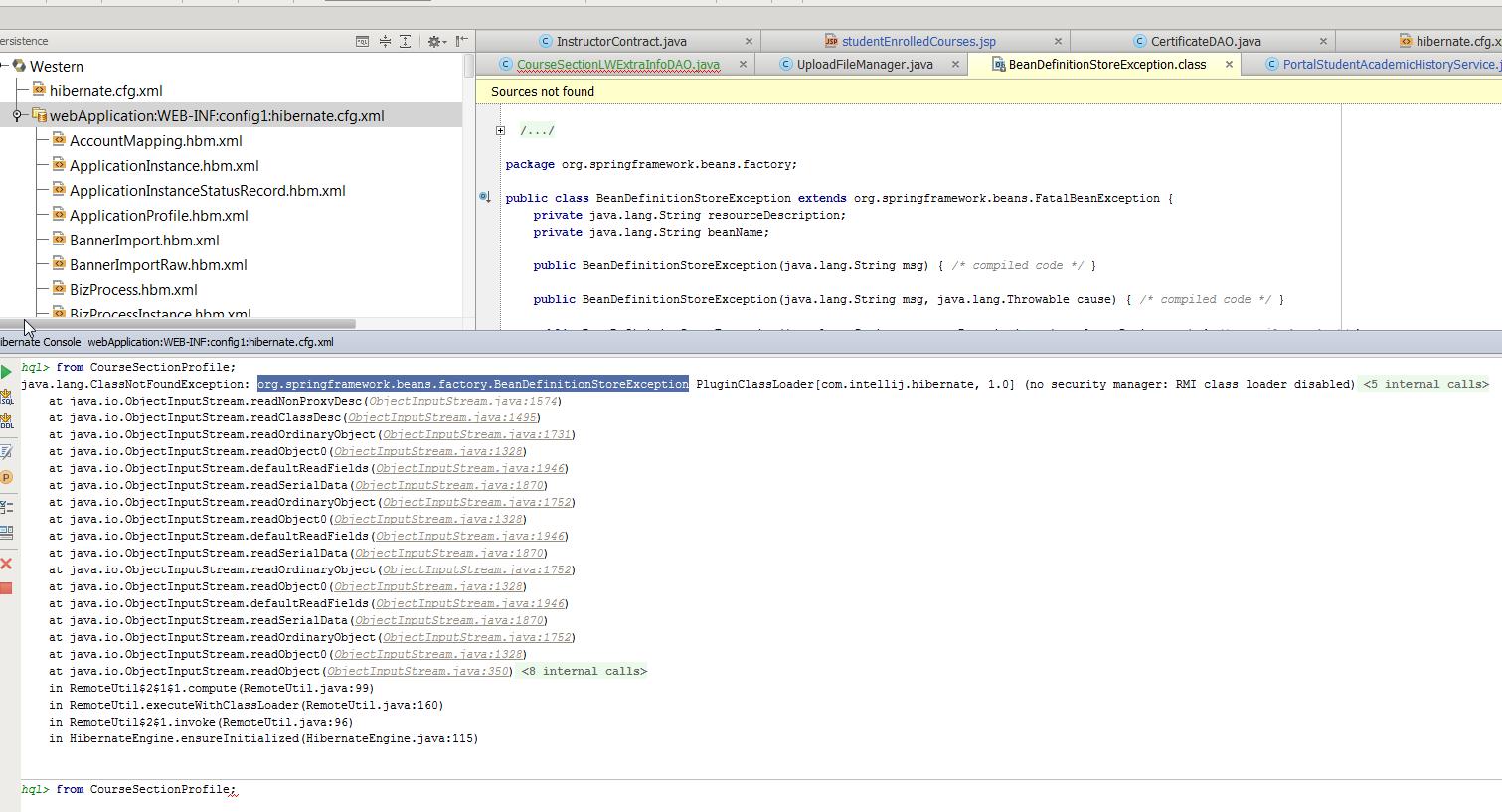 IntelliJ_hibernate_console_error.png