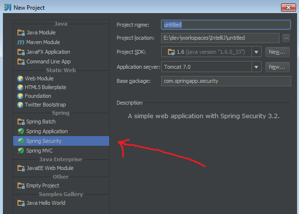 Adding Spring Security to Spring MVC project – IDEs Support