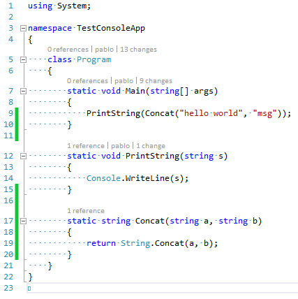 Implement CodeLens in the code editor – IDEs Support (IntelliJ