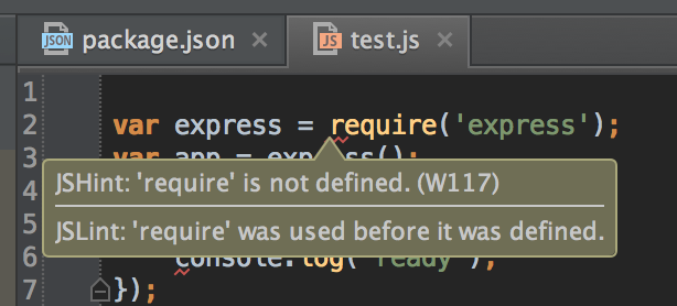 Webpack Var Injection Require Is Not Defined