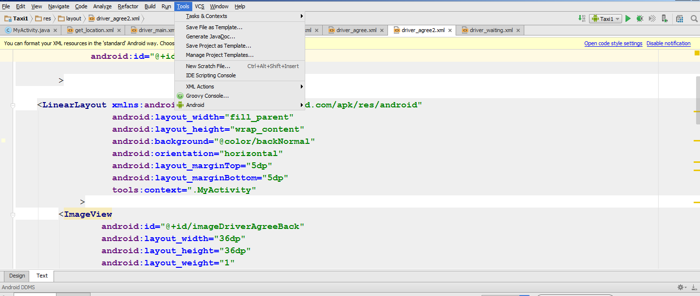 Error rendering preview of XML layout with <fragment> – IDEs Support