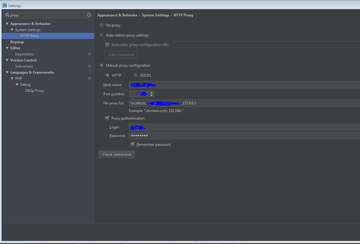 Github plugin is not using proxy settings – IDEs Support
