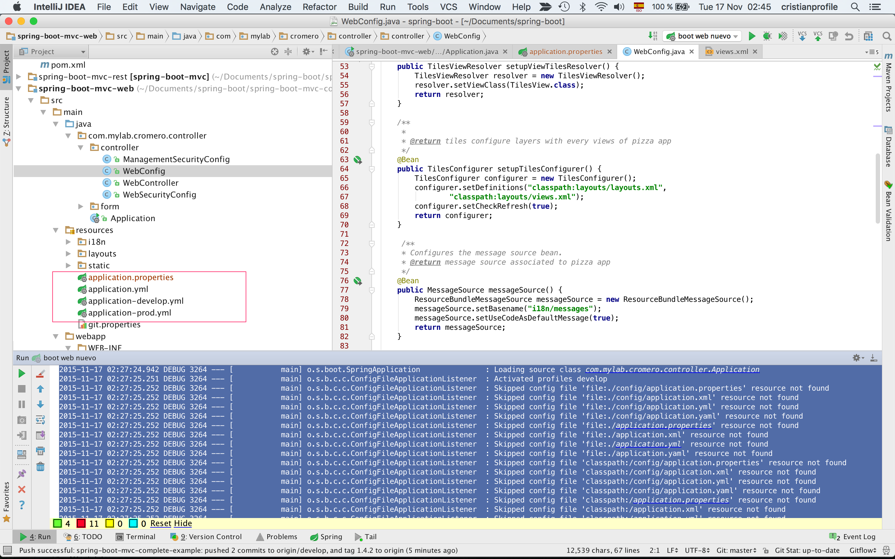 intellij 15 Spring boot tiles problem – IDEs Support
